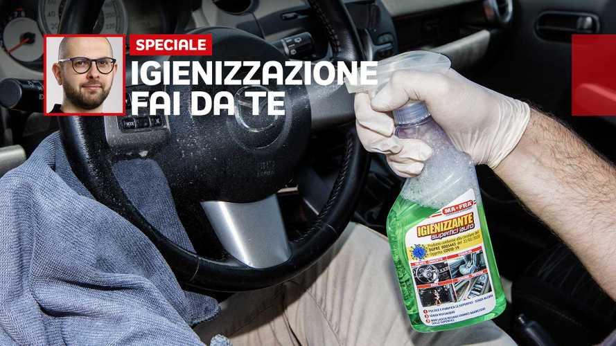 Igienizzazione auto fai da te: cos'è, come si fa e quanto costa
