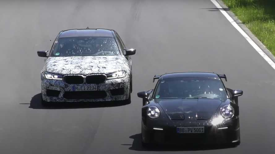 Watch the 2021 BMW M5 CS lap the Nurburgring at full speed