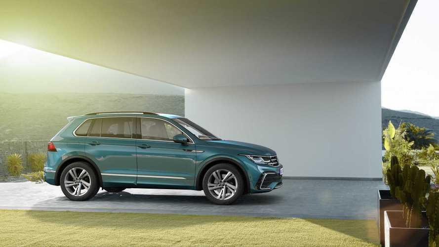 Обновленный Volkswagen Tiguan добрался до России