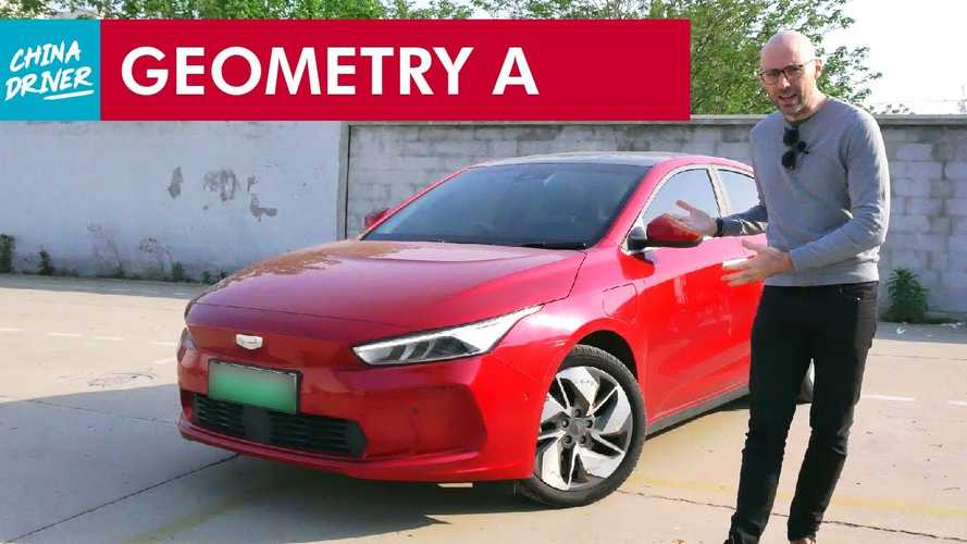 Geely Geometry A Is A Chinese Electric Sedan We Wouldn't Mind Owning