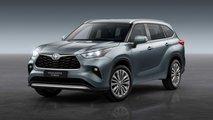 2020 Toyota Highlander for Europe