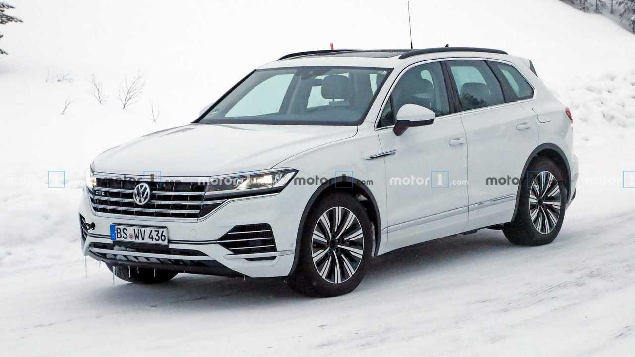 Volkswagen Touareg GTE Casus Fotoğrafları
