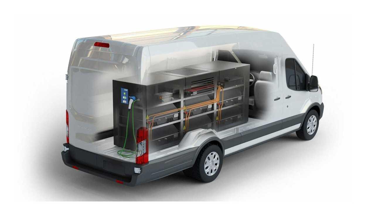 Lightning Mobile installed in Transit 350HD cargo van