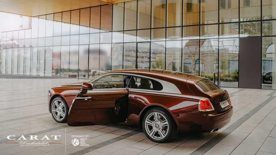 Купе Rolls-Royce Wraith превратили в особо роскошный универсал
