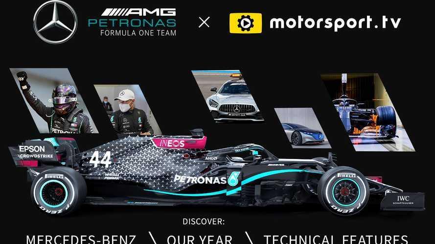 A Mercedes-Benz Motorsport saját csatornát indít a Motorsport.tv-n
