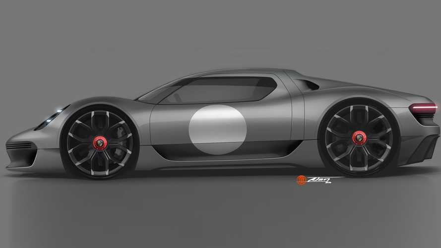 Porsche 904 revival rendered as Cayman supercar with 918 Spyder tech