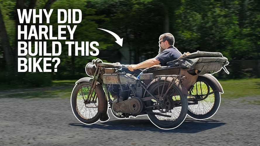 Check Out This Unique, Totally Wild 1916 Harley-Davidson Sidecar Rig