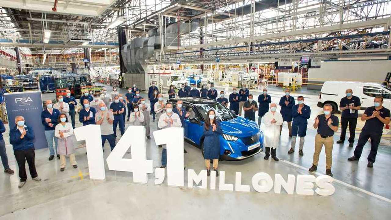 14,1 millones de coches fabricados en PSA Vigo