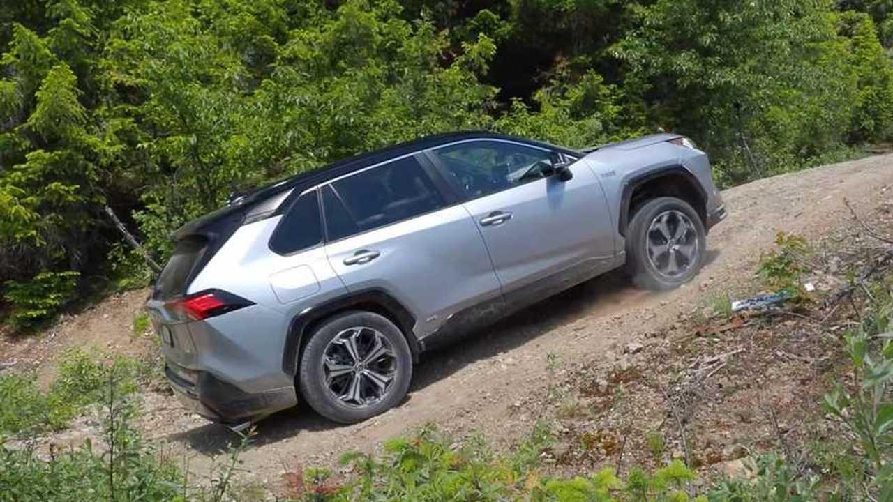 2021 Toyota RAV4 Hybrid off road