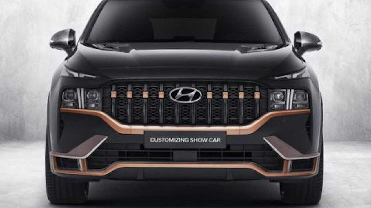 Hyundai Santa Fe con N Performance Parts