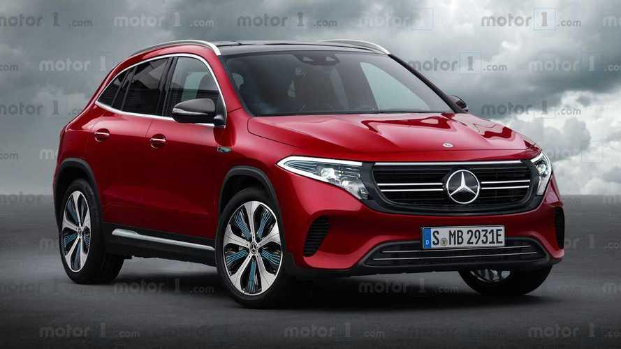 Mercedes EQA, ecco come potrebbe essere il SUV elettrico compatto