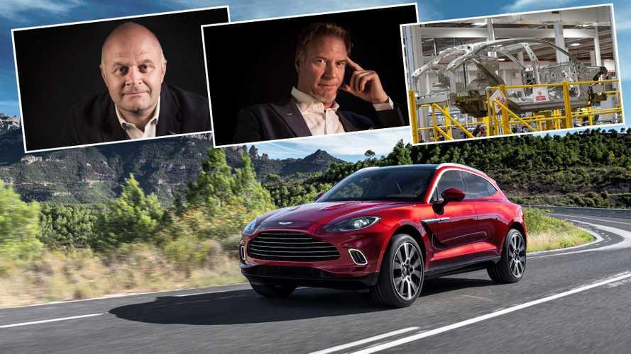 «Забудьте о V12»: создатели Aston Martin DBX о прошлом и будущем