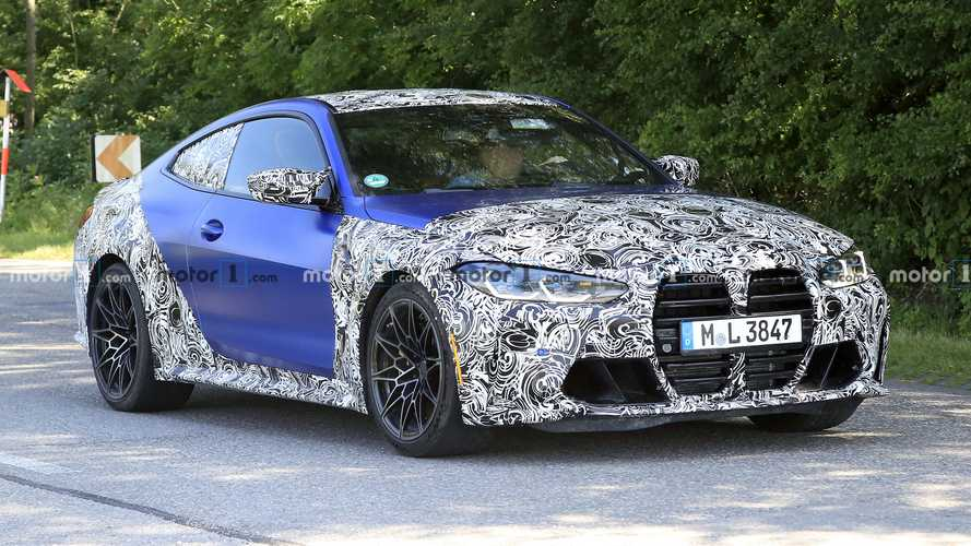2021 BMW M4 new spy phtos