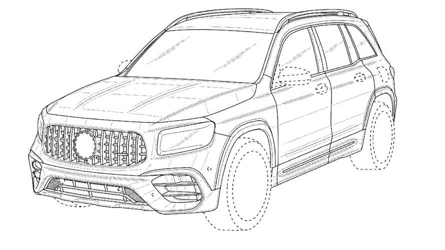 2021 Mercedes-AMG GLB 45 Gets Early Debut Via The Patent Office