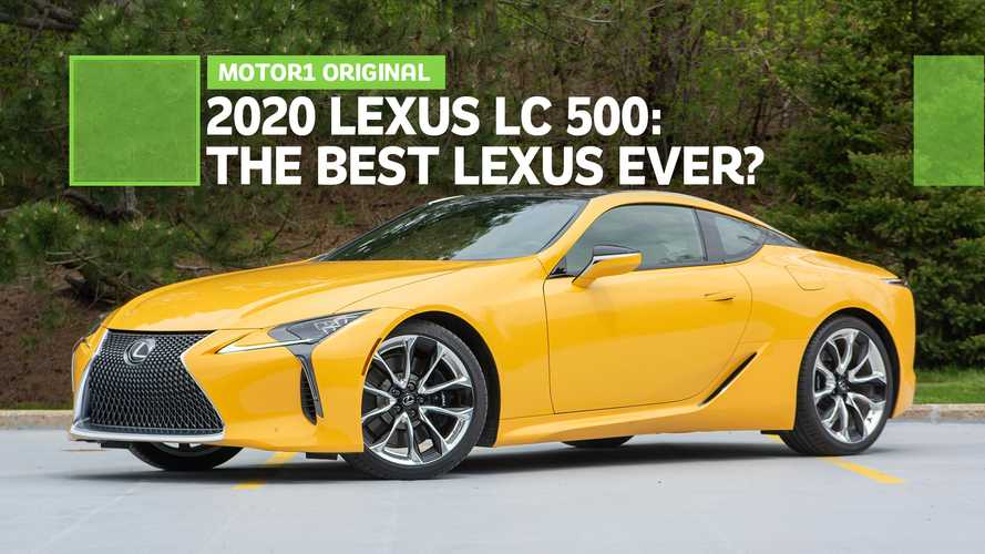 Is The Lexus LC 500 The Best Lexus Ever?