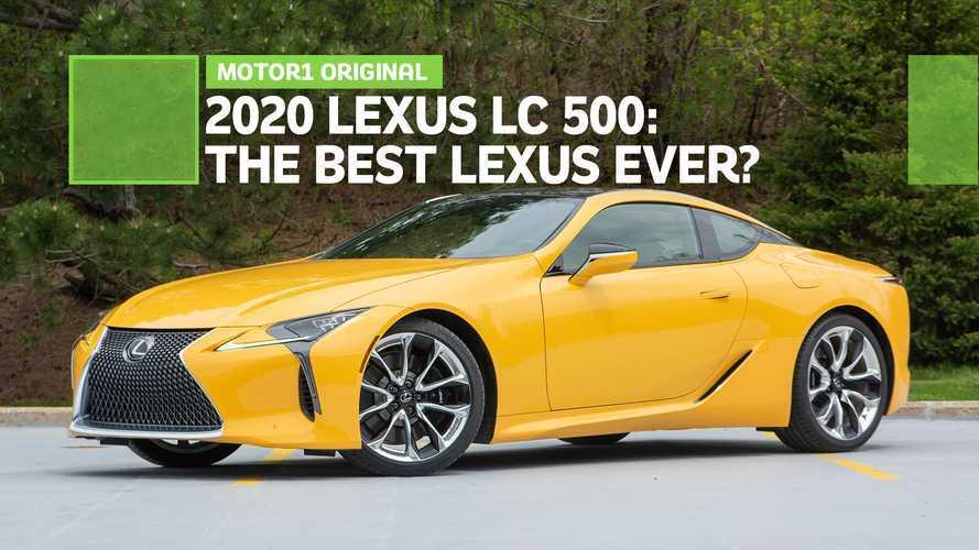 Is The Lexus LC 500 The Best Lexus Ever?