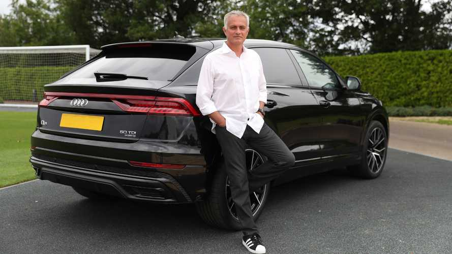 'The Special One' puts pen to paper on new deal... with Audi
