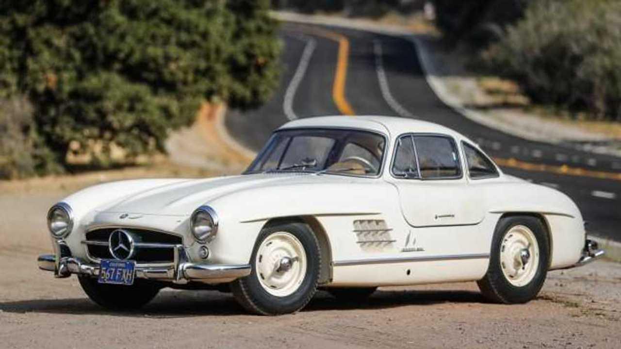 Blockbuster Mercedes SL line-up set for Scottsdale auction