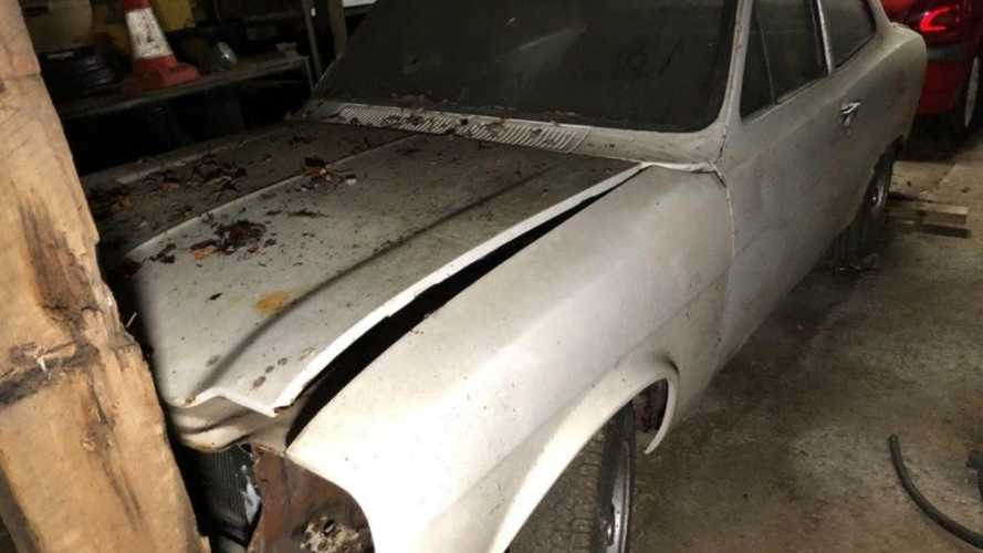 Barn-find 1972 Ford Escort Mexico is a risk worth taking