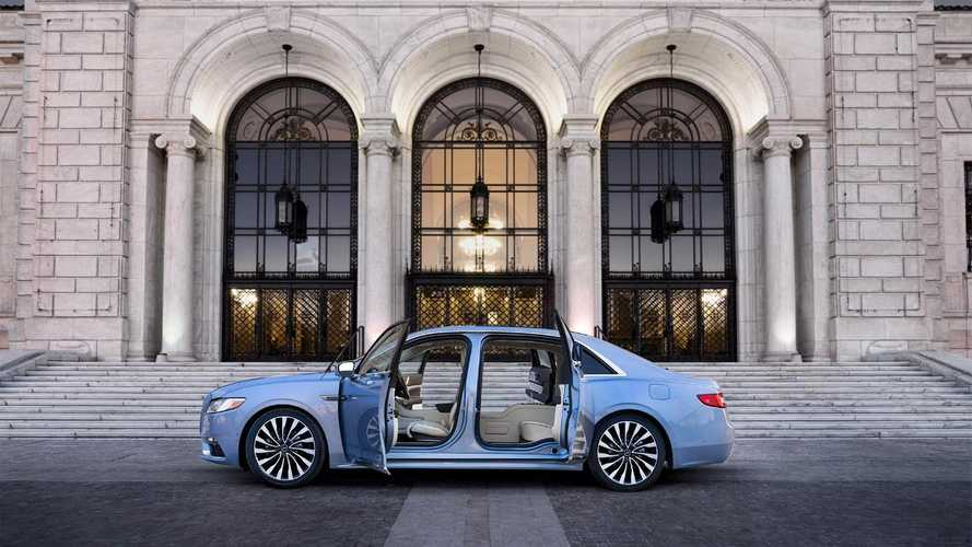 Lincoln revives suicide doors for Continental's 80th anniversary