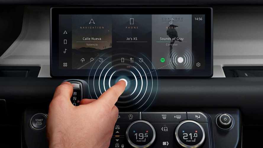 Jaguar Land Rover: nueva pantalla táctil... que no hace falta tocar