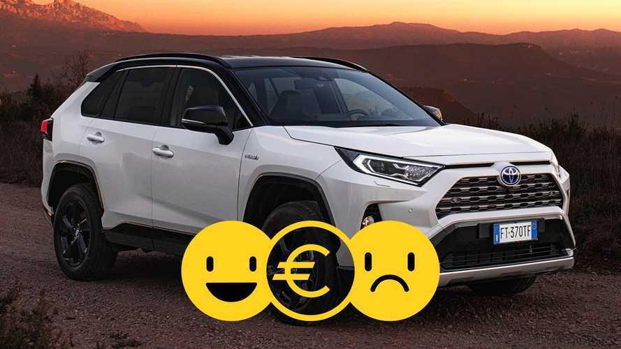 Promozione Toyota RAV4 Hybrid AWD-i, perché conviene e perché no