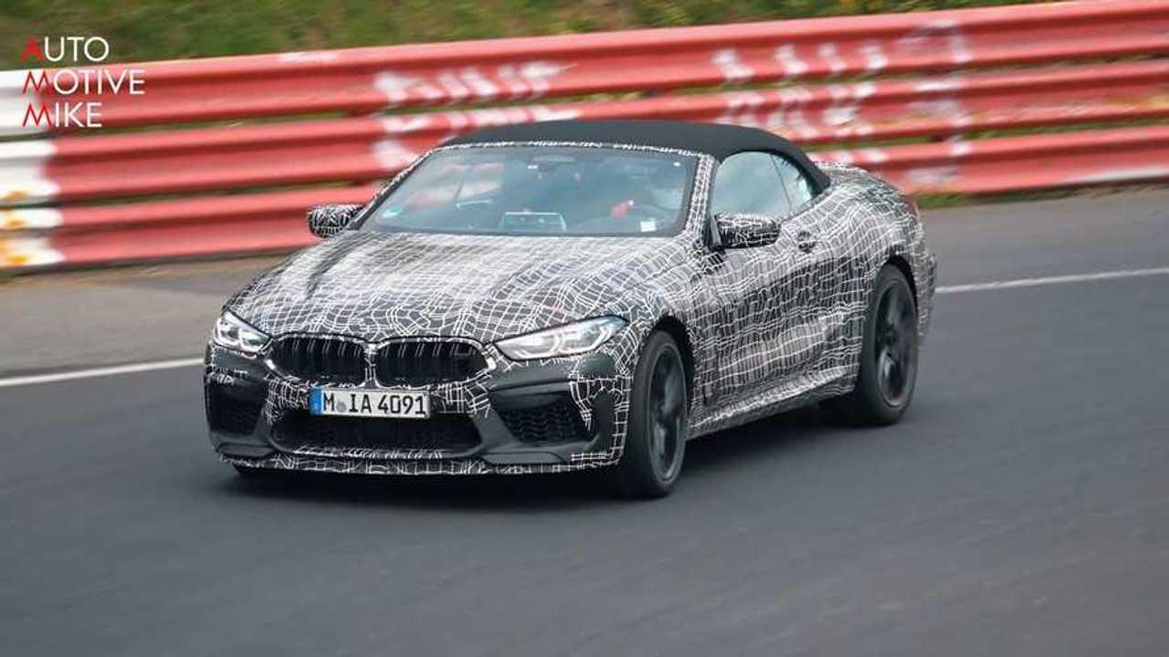 BMW M8 Nürburgring videó
