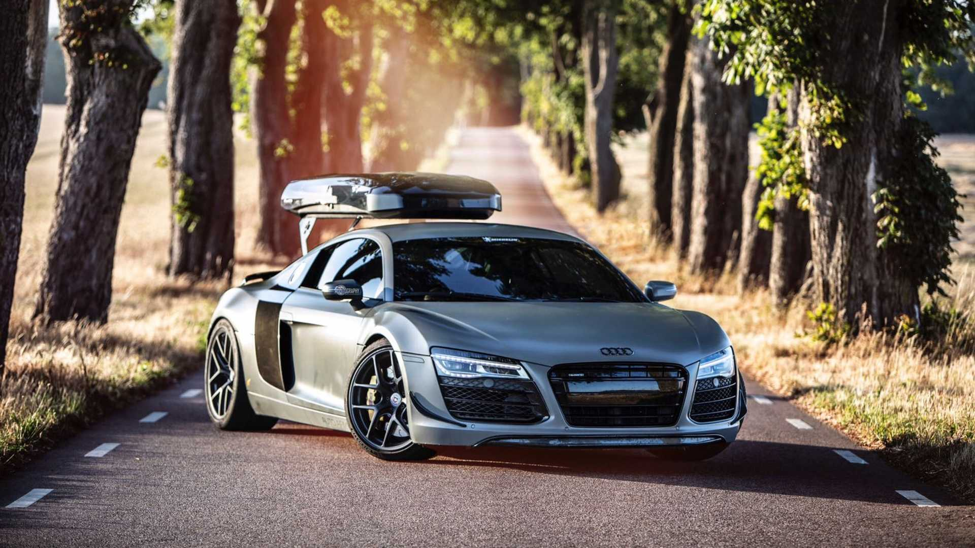 Around the world in a manual Audi R8