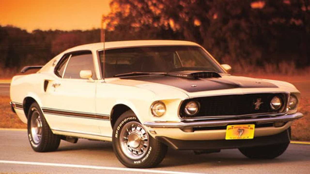 História Ford Mustang Mach 1