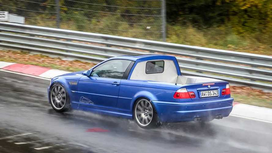 ¿Un BMW M3 E46 pick-up? ¿En Nürburgring? Ver para creer...