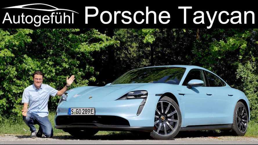 Porsche Taycan 4S Tested By Autogefühl: Video