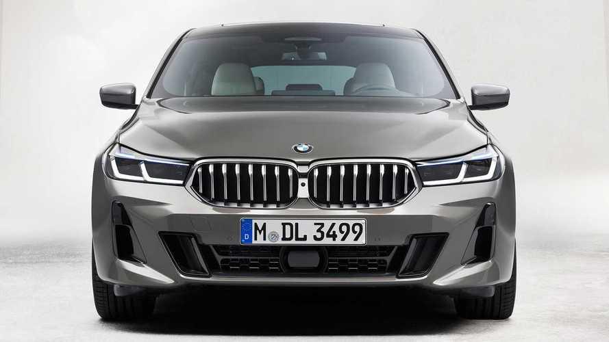 «Шестерка» BMW пережила рестайлинг