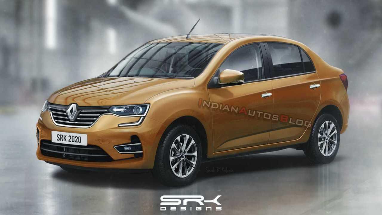Projeção Renault LBA (sedã do Kwid)