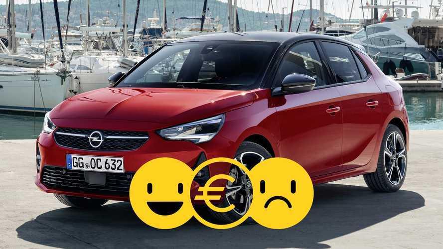 Promozione Opel Corsa 1.2, perché conviene e perché no