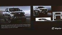 Nova Toyota Hilux 2021 (imagens vazadas)