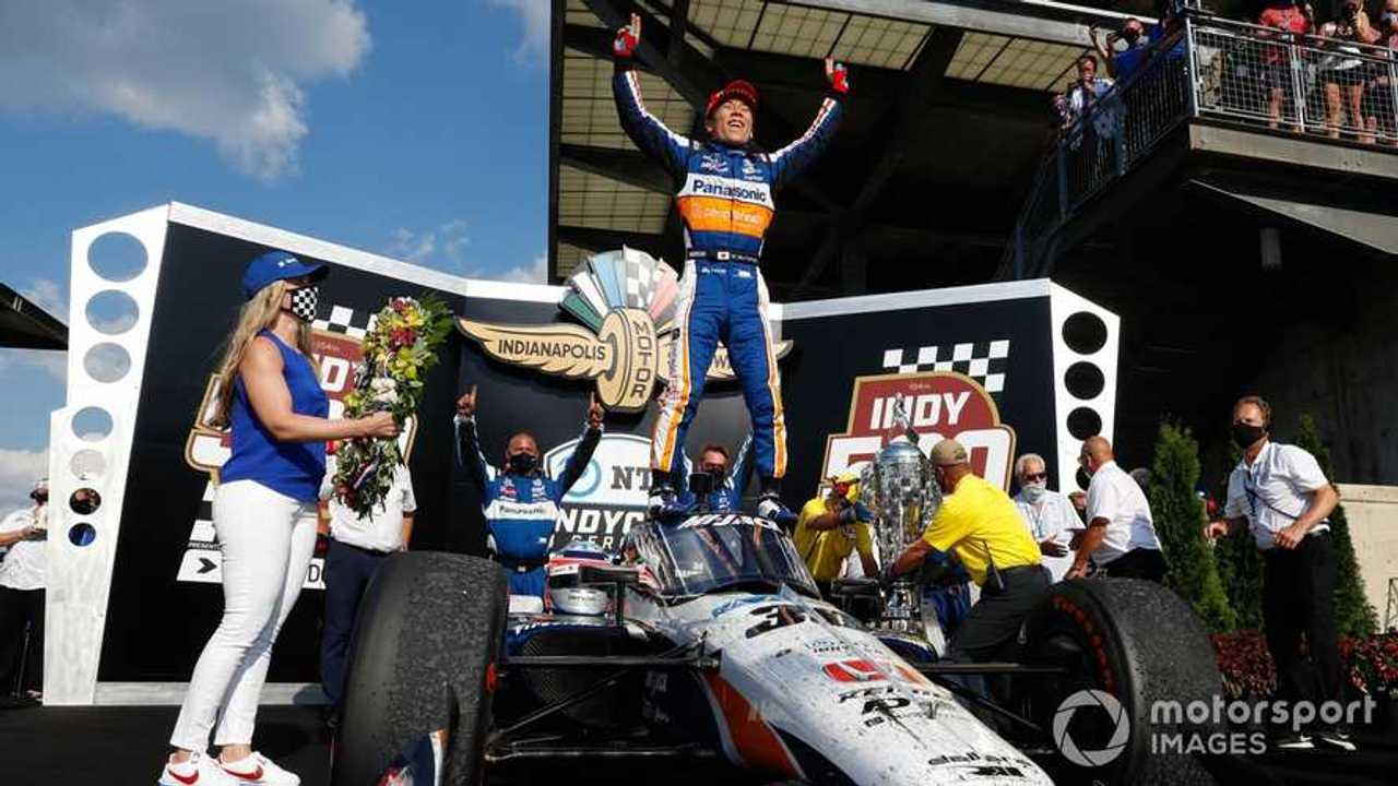 Indy 500 winner Takuma Sato 2020