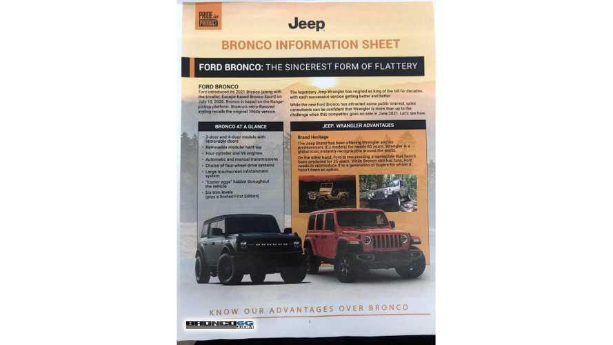 Jeep Wrangler Ford Bronco Dealer Comparison Guide