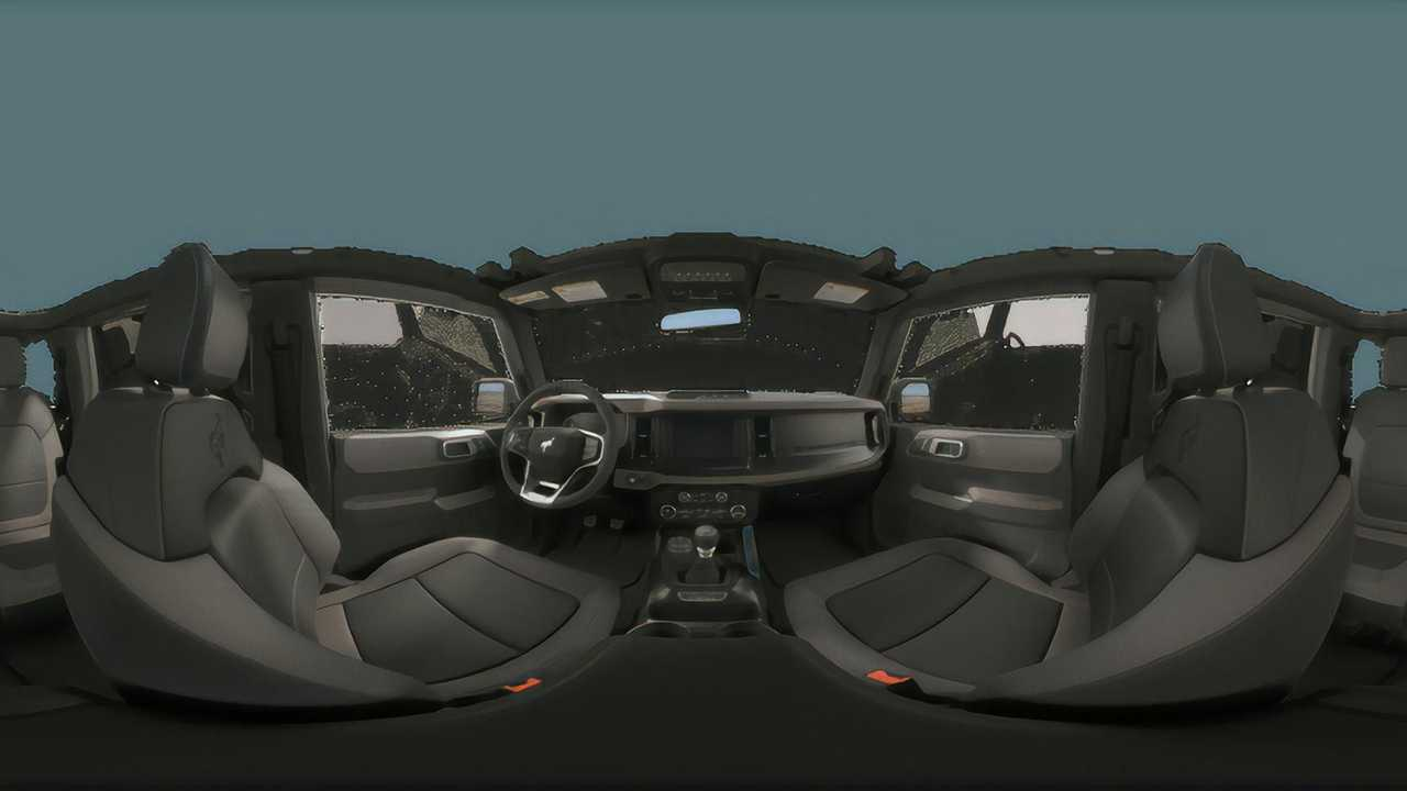 Ford Bronco Black Diamond Interior 360 View - 5098185