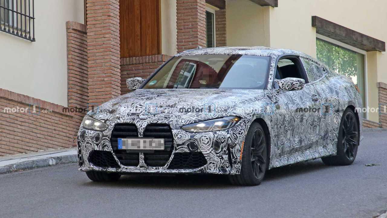 2021 BMW M4 Coupe spy photo