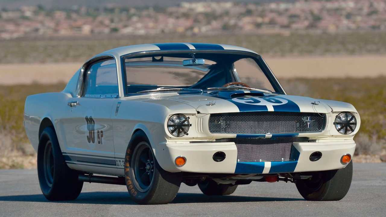 Прототип Shelby GT350R 1965 года