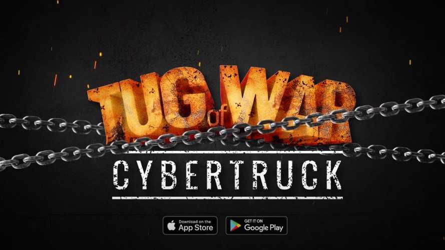Tug Of War Tesla Cybertruck Game Puts You In Charge Of Tugging Opponents