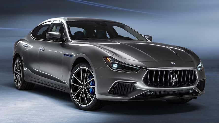 Maserati Ghibli Hybrid unveiled with 325 bhp and a facelift