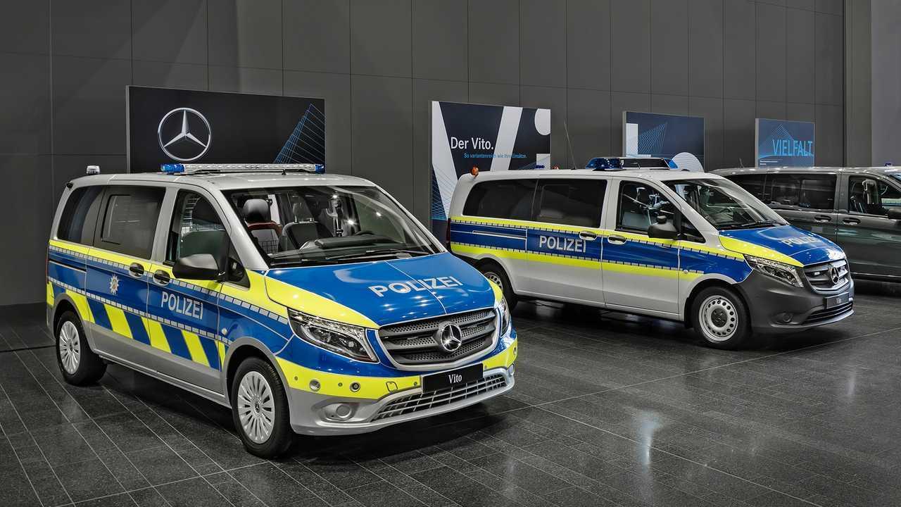 Polizeiautos in Deutschland: Mercedes Vito