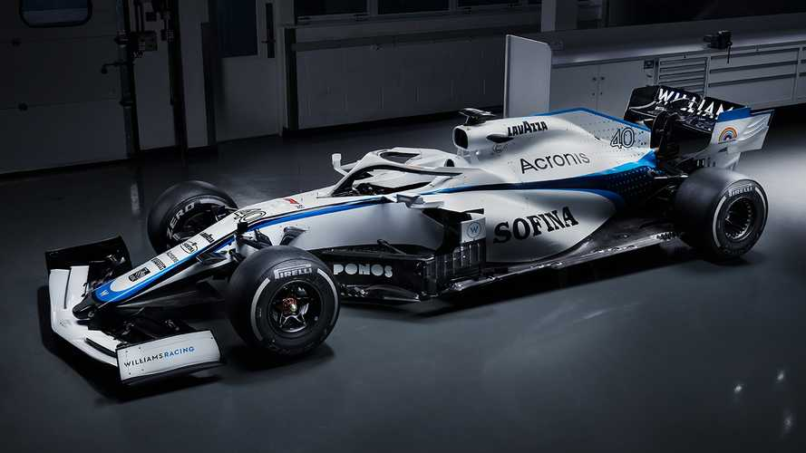 F1: Williams svela la nuova livrea 2020 dopo l'addio di ROKiT