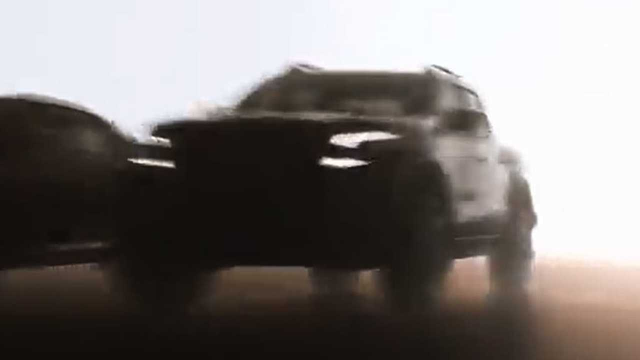 Nova Nissan Frontier 2021 -  Teaser