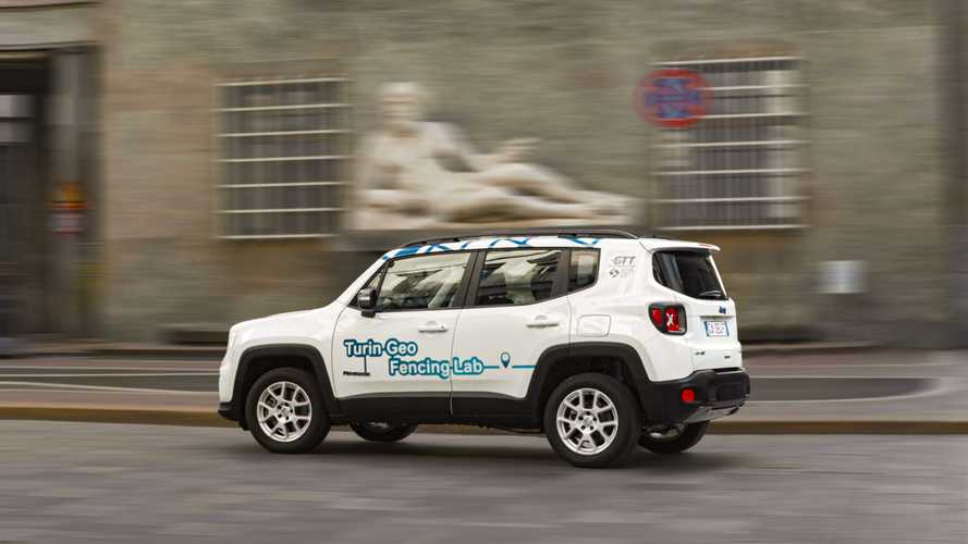 La Jeep Renegade ibrida plug-in inizia i test del geofencing torinese