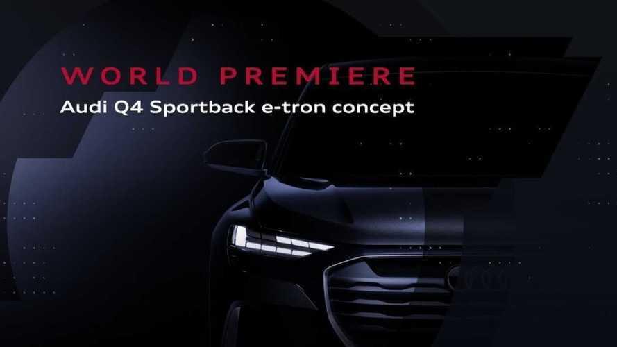 Suivez la présentation de l'Audi Q4 Sportback e-tron concept en direct