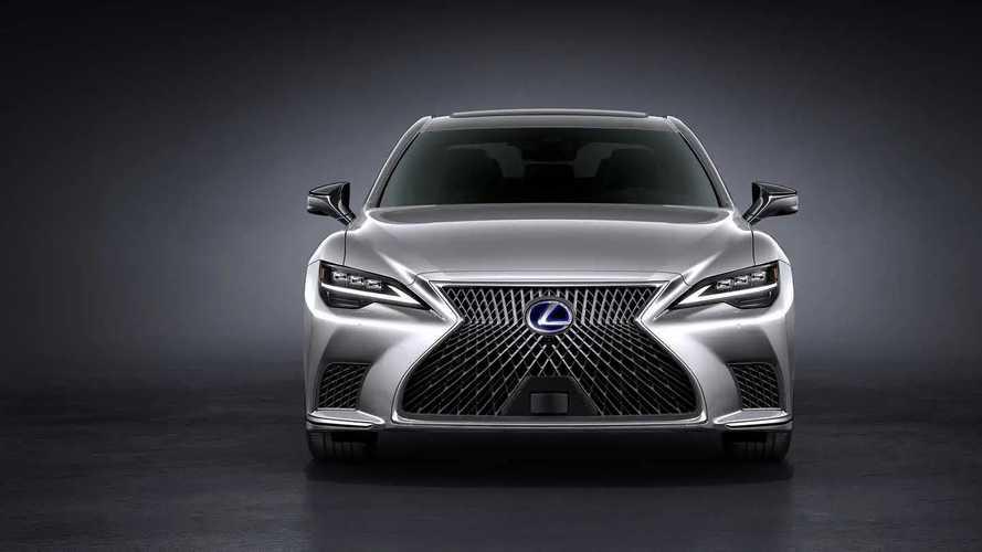 Makyajlı 2021 Lexus LS