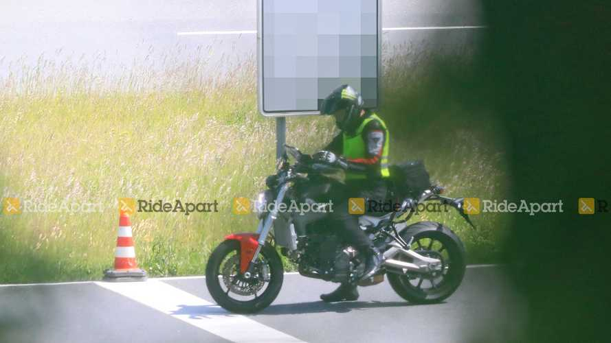 2021 Ducati Monster Spy Photos