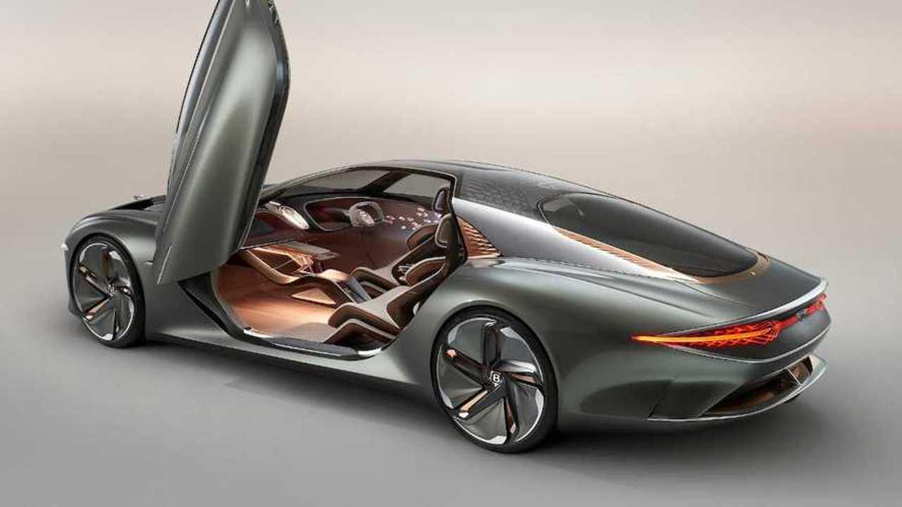 Bentley отметил 100-летие марки концептом роскошного электрокара